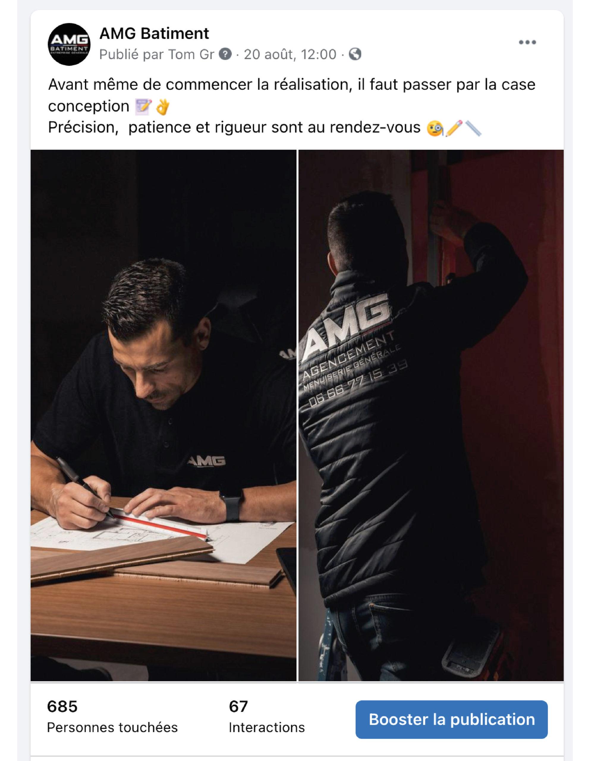 AMG Batiment post facebook